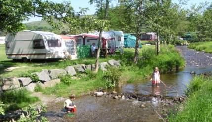 Hendwr Caravan Park Holiday Lodges in Denbighshire