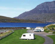 Ardmair Point Caravan and Camping Park Holiday Lodges in Highlands
