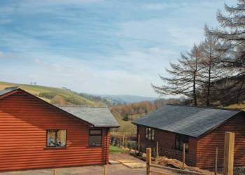 Fishpools Farm Holiday Lodges in Powys