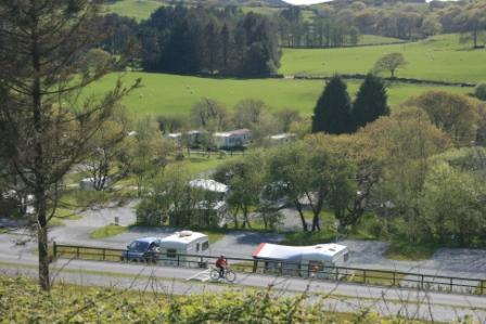 Tyddyn Llwyn Caravan Park Holiday Lodges in Gwynedd