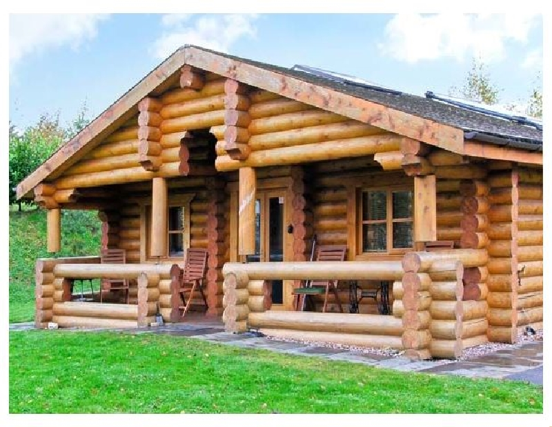 Cedar Log Cabin- Brynallt Country Park a british holiday cottage for 4 in ,