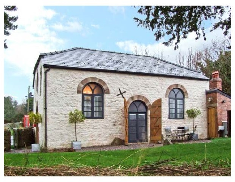The Old Baptist Chapel a british holiday cottage for 4 in ,