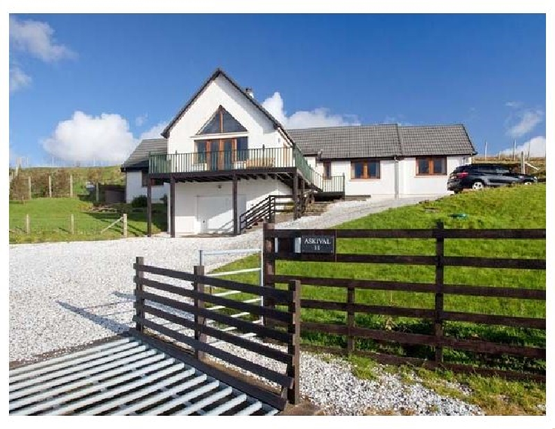 Askival a british holiday cottage for 6 in ,