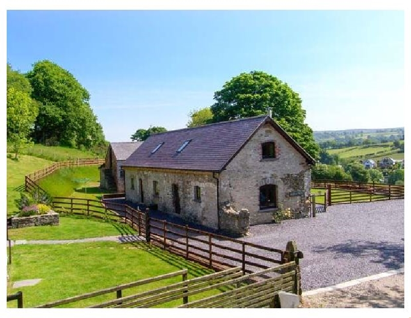 Boffins Barn at Pen Isa Cwm a british holiday cottage for 8 in ,