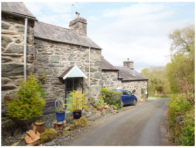 Bryn Hyfryd Bach a british holiday cottage for 2 in ,