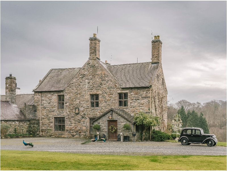 Talhenbont Hall a british holiday cottage for 10 in ,