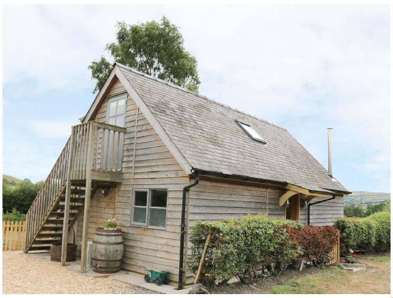 Bicton Lodge a british holiday cottage for 4 in ,