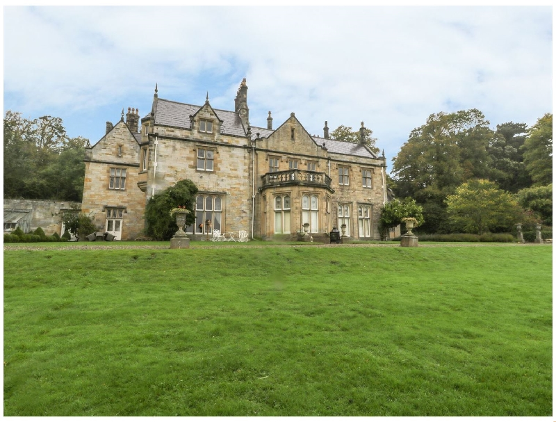 The North Wing at Sandhoe Hall a british holiday cottage for 6 in ,