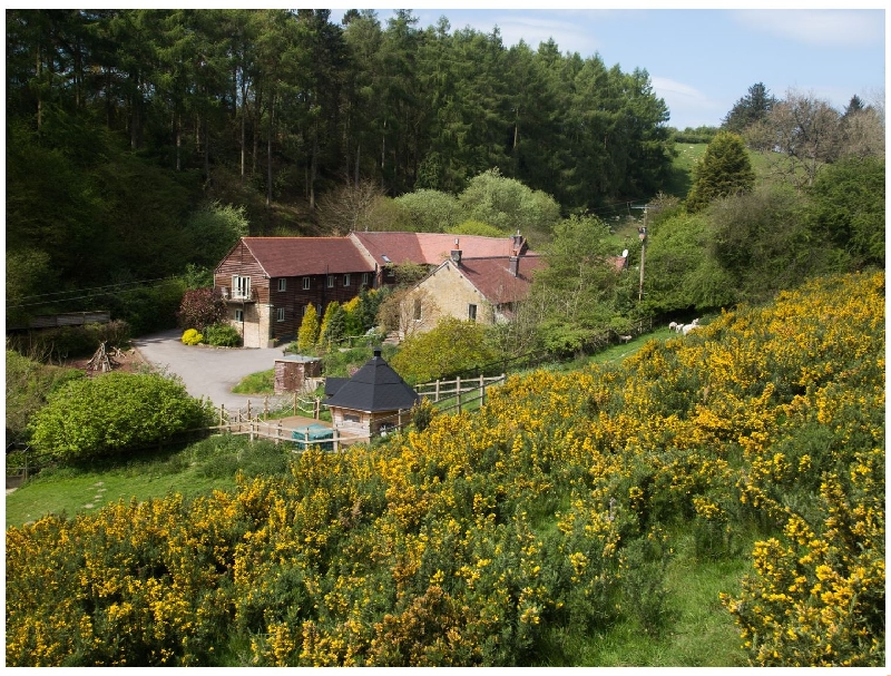 Pinstones Cottage a british holiday cottage for 4 in ,