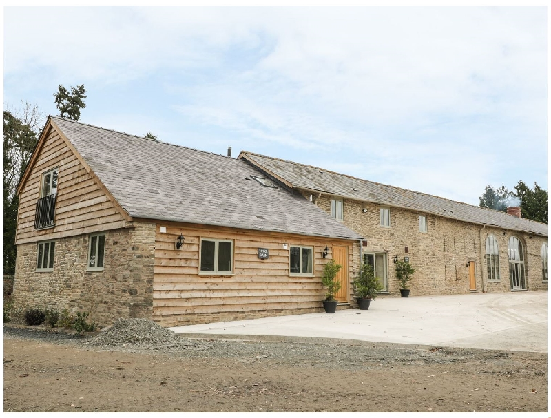 Timber Barn a british holiday cottage for 12 in ,