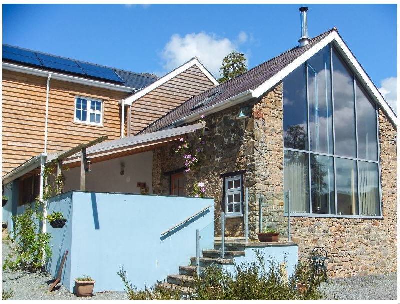 The Barn at Glanoer a british holiday cottage for 2 in ,