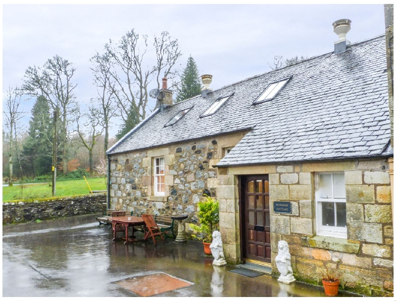 Burnside Cottage a british holiday cottage for 4 in ,