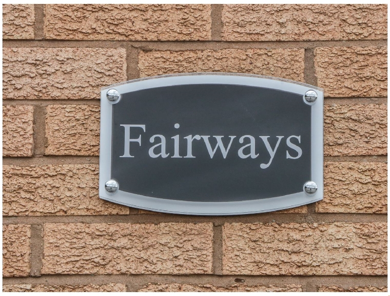 Fairways a british holiday cottage for 4 in ,