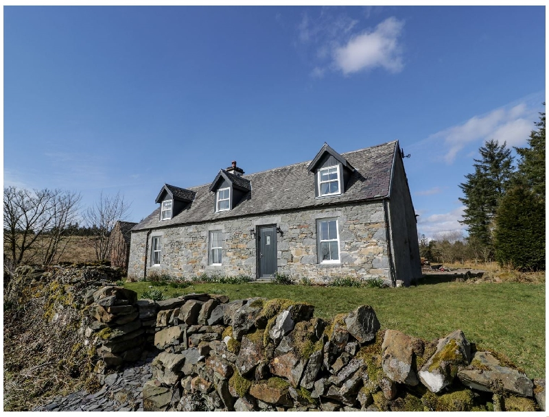 Corrafeckloch Forest Cottages a british holiday cottage for 6 in ,