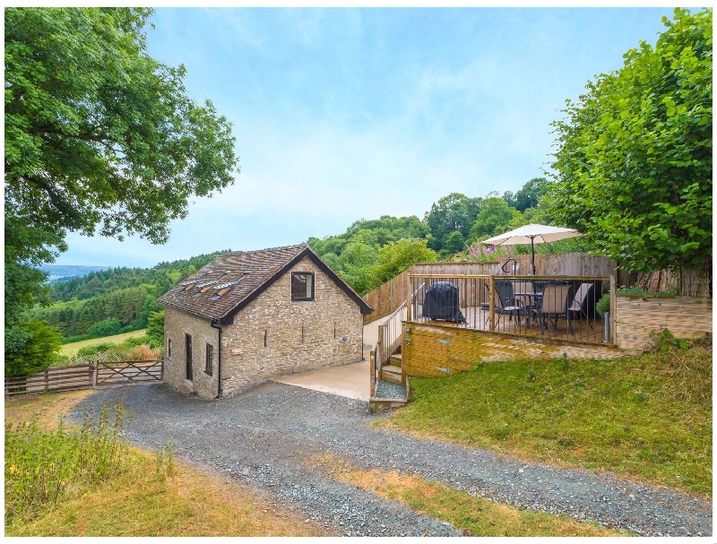 Bishop's Castle Barn a british holiday cottage for 4 in ,