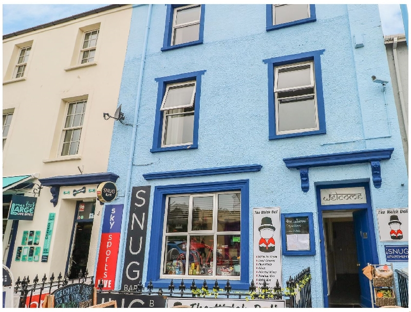 4 Cambrian Terrace a british holiday cottage for 6 in ,