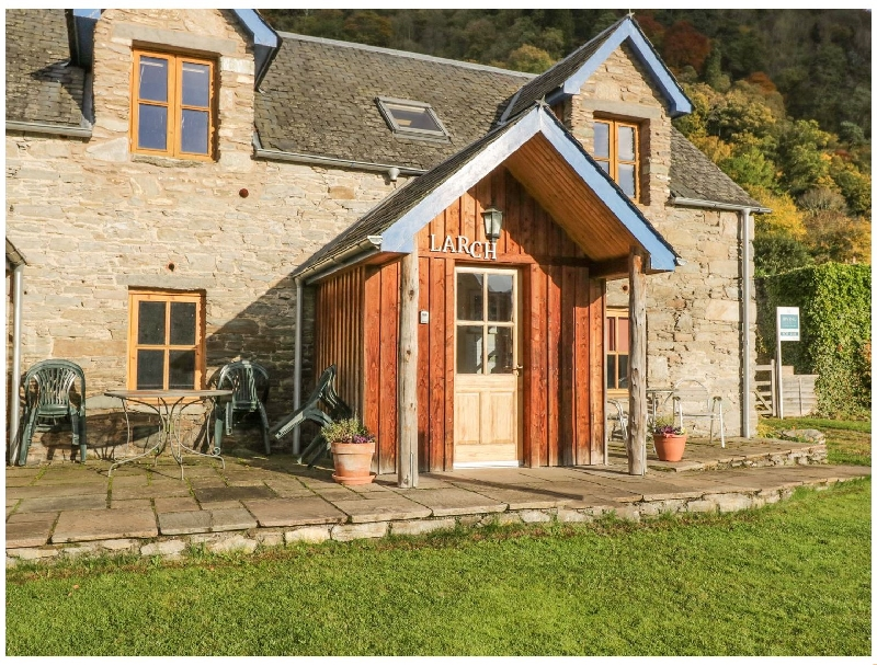 Larch Cottage a british holiday cottage for 2 in ,