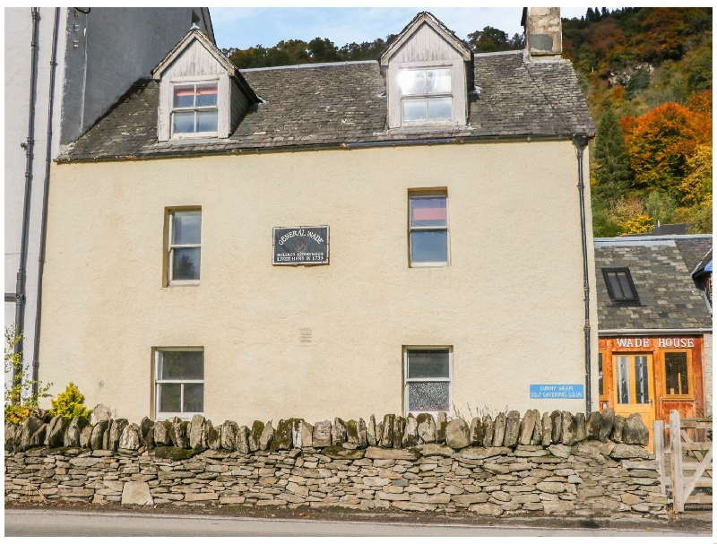 Wade House a british holiday cottage for 6 in ,
