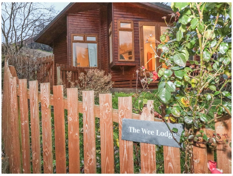 The Wee Lodge a british holiday cottage for 4 in ,
