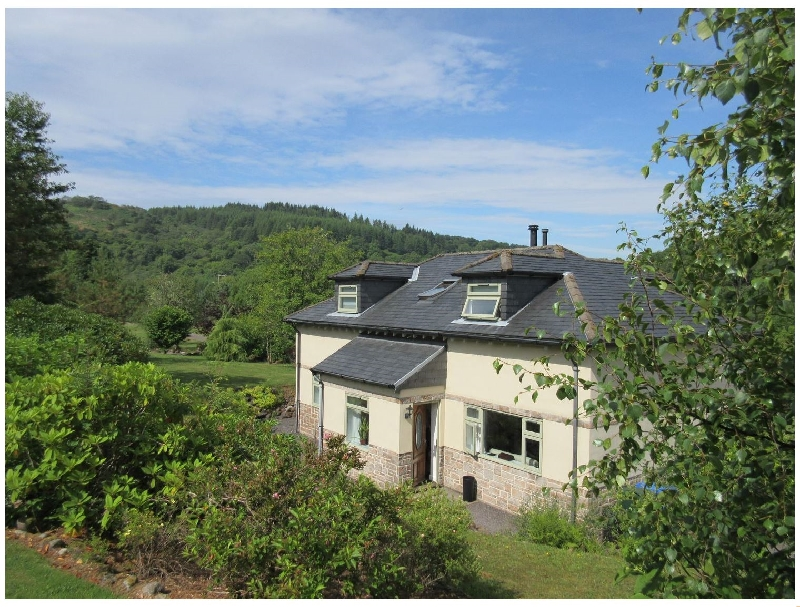 Glen Euchar House a british holiday cottage for 6 in ,
