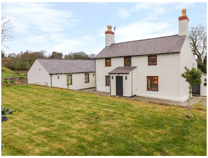 Pen Y Bryn Cottage a british holiday cottage for 8 in ,