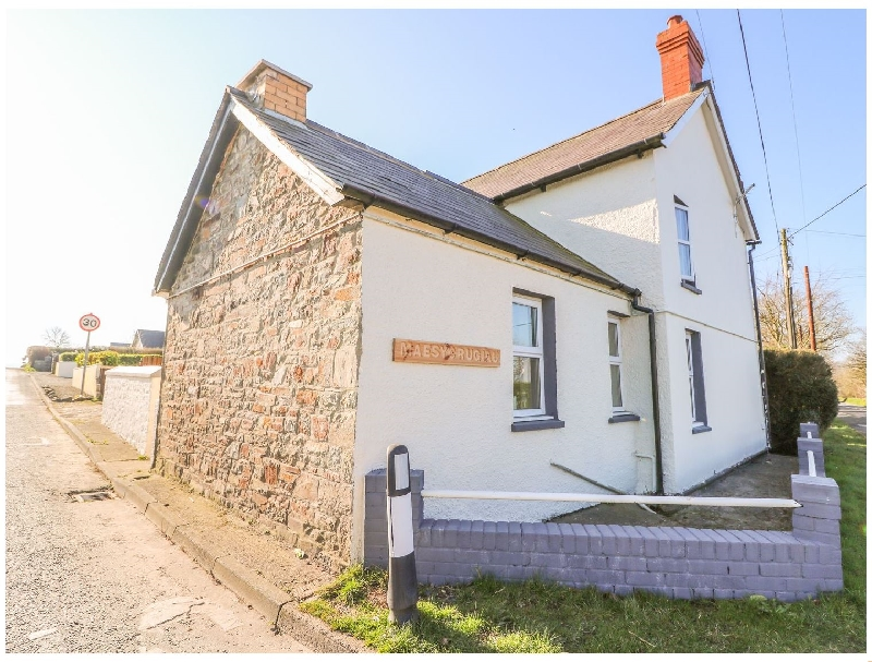 Maesycrugiau a british holiday cottage for 6 in ,