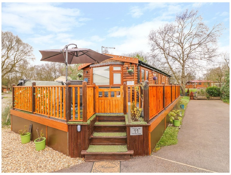 Parkview Lodge a british holiday cottage for 4 in ,