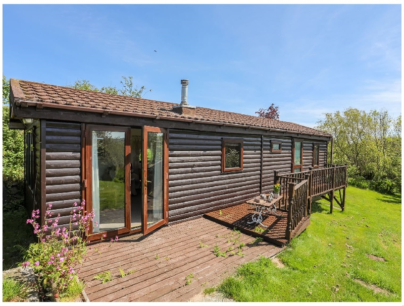 Castell Chalet a british holiday cottage for 4 in ,