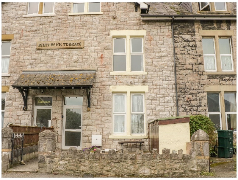 Flat 2 - 9 Rhiw Bank Terrace a british holiday cottage for 4 in ,
