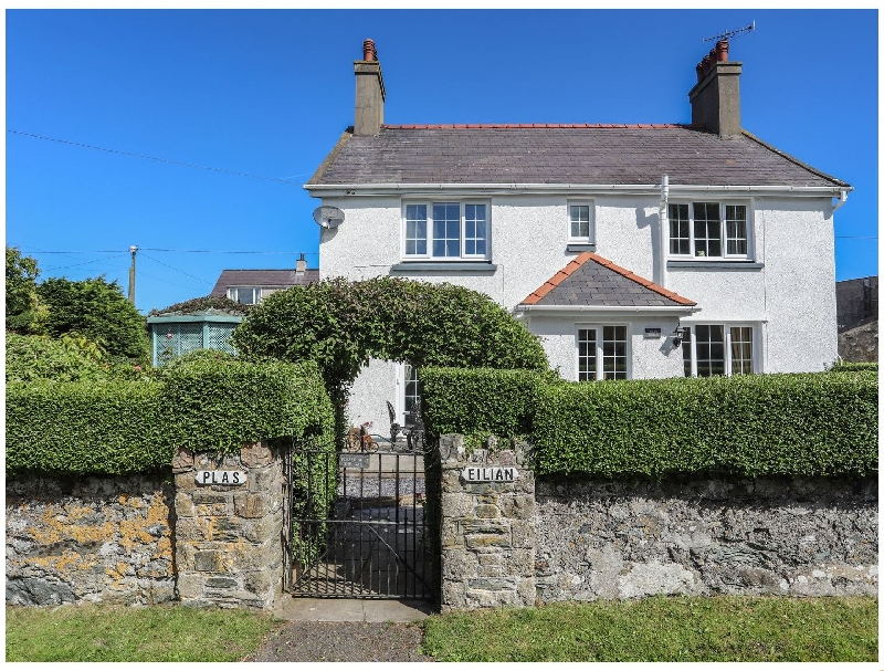 Plas Eilian House a british holiday cottage for 9 in ,