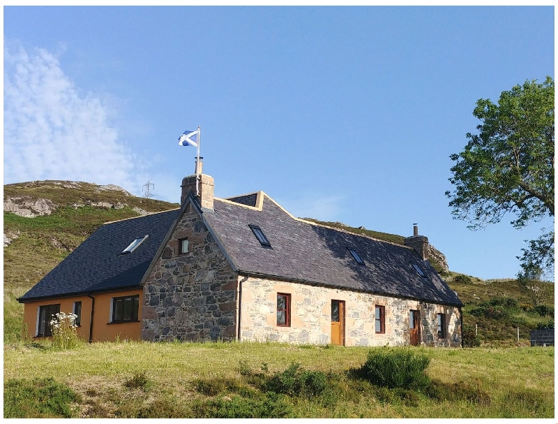 Cuilfearne Croft a british holiday cottage for 8 in ,