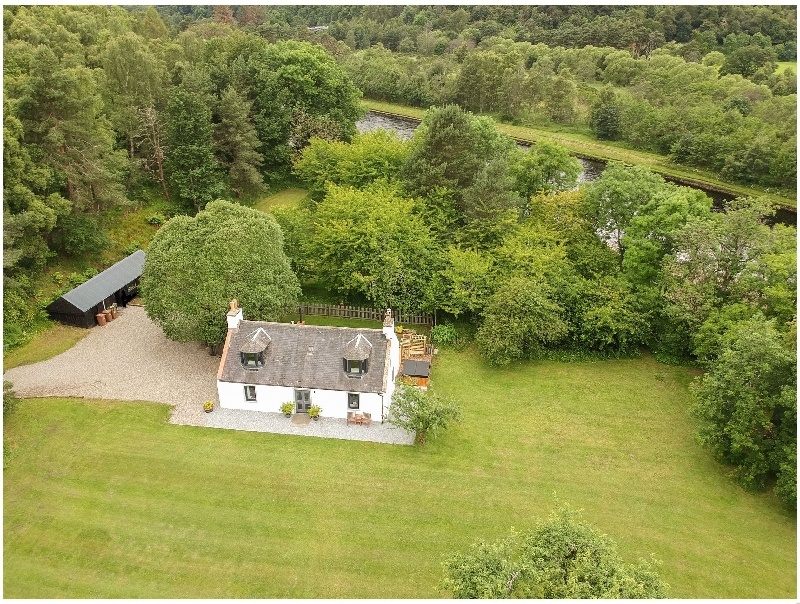 Boat O Fiddich a british holiday cottage for 6 in ,