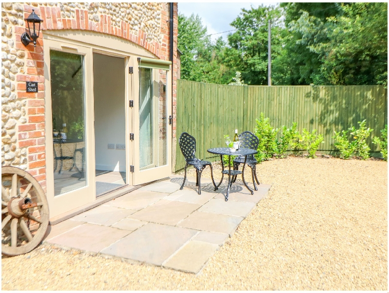 The Cart Shed a british holiday cottage for 2 in ,