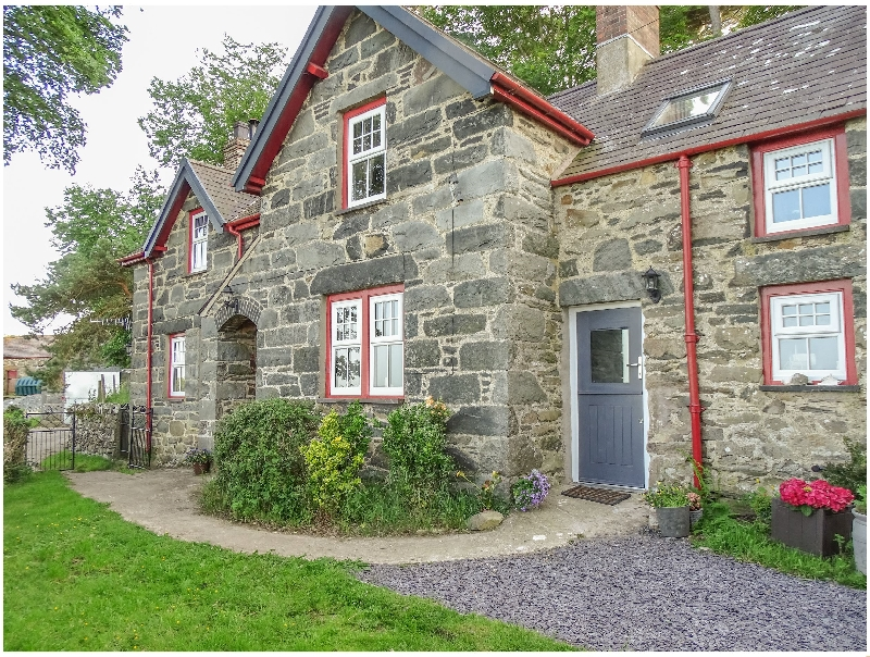 Hafodty a british holiday cottage for 9 in ,