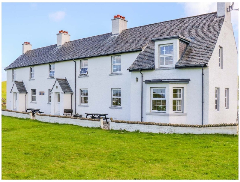 Hunish a british holiday cottage for 9 in ,