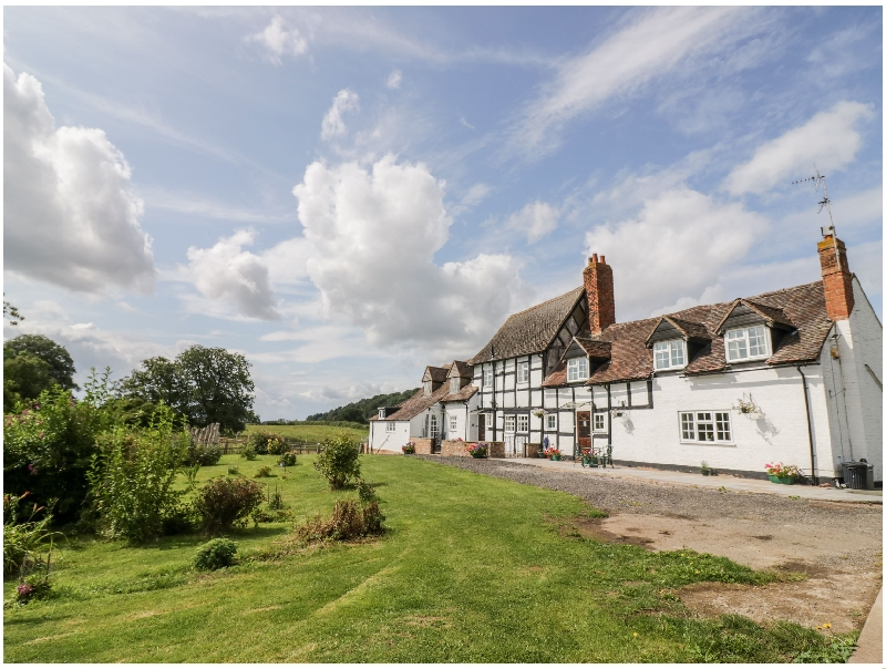 The Farmhouse a british holiday cottage for 6 in ,