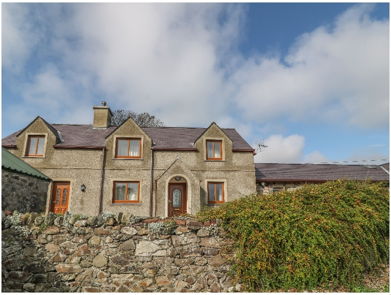 Caer Moel a british holiday cottage for 8 in ,