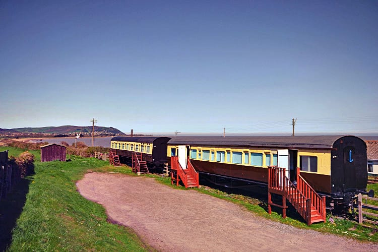Railway Carriage a british holiday cottage for 6 in ,